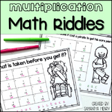 Multiplication Math Riddles
