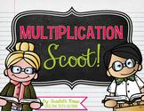 Multiplication Math Scoot!