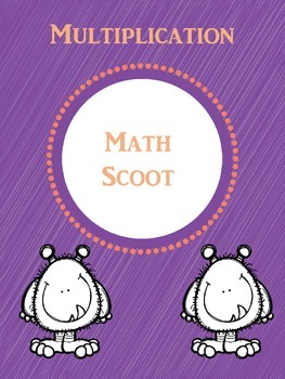 Multiplication Math Scoot