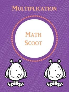 Multiplication Math Scoot