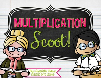 Multiplication Math Scoot!