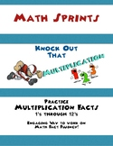 Multiplication Math Sprints