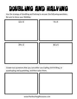 Multiplication Math Strategies Pack A (Video Series)