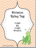 Division Math Tag; 3 digit by 2 digit