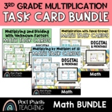 Multiplication Task Cards, Third Grade Math Centers