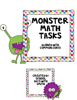 Multiplication Math Tasks