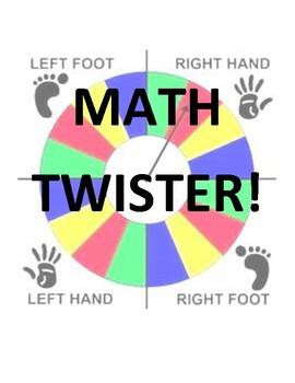 Multiplication Math Twister