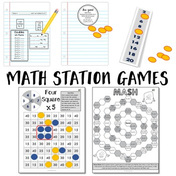 Multiplication Math Workshop Kits