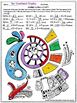 15 Multiplication Math and ART! Worksheets.