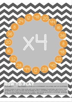 #alliwantforchristmas Multiplication Maths Dice Games **NO PREP**