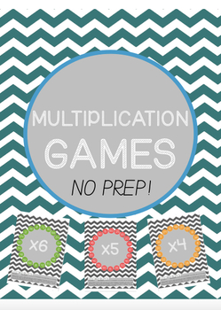 #teachersloveteachers Multiplication Maths Dice Games **NO PREP**