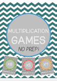 #betterthanchocolate Multiplication Maths Dice Games **NO PREP**