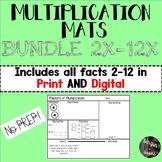 Multiplication Mats 2X-12X BUNDLE