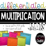 Multiplication Mats-Differentiated