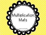 Multiplication Mats - Groups Of