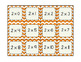 Multiplication Mats with Math Facts 2's through 9's