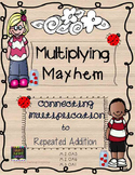 Multiplication Mayhem - Connecting Multiplying to Repeated
