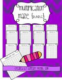Multiplication Maze {BUNDLE}