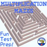 Multiplication Mazes Test Prep