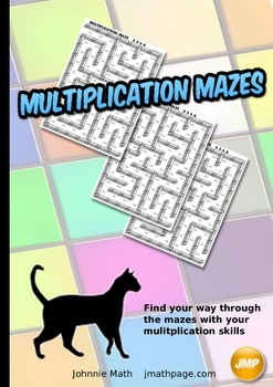 Multiplication Mazes Big Book