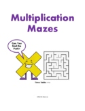Multiplication Mazes, Times Tables 1-10