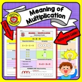 Multiplication, Meaning Of (Reference Guide + Practice Wor