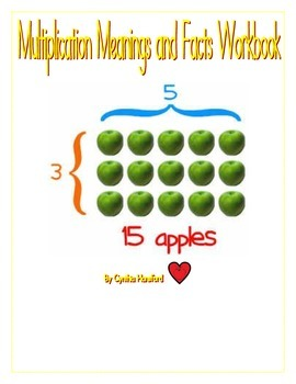 Multiplication Meanings and Facts Workbook