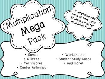 Multiplication Mega Pack