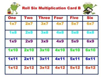 Multiplication Games Bundle! 4 Fun Games!