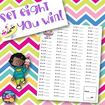 Multiplication Memorization (Fact Fluency)
