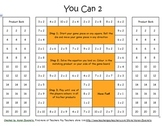 Multiplication Memorization Game