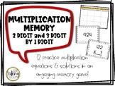 Multiplication Memory (2 & 3 Digit)