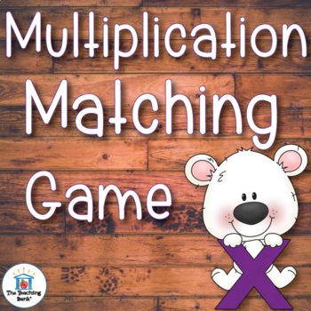 Multiplication Matching Game