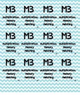 Multiplication, Memory, Matching