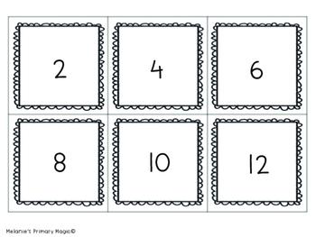 Multiplication Memory Matching Game