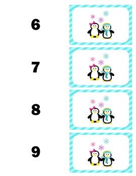 Multiplication Memory Penguin Pals