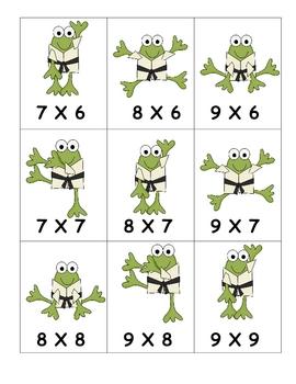 Multiplication Memory and Karate Chop