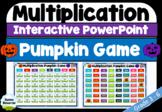 Multiplication Mental Maths Pumpkin Game | Grades 3-6