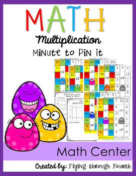 Multiplication {Minute to Pin It} Math Center