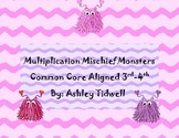 Multiplication Mischief Monsters: Small Group Math Center