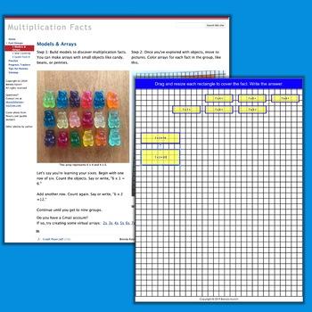 Multiplication Facts Coaching Kit