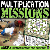 Multiplication Missions Games and Activitites