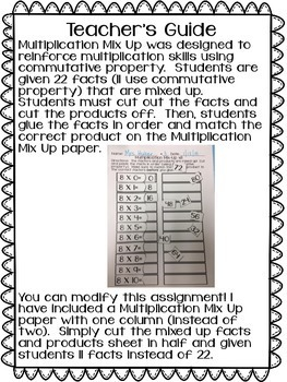 Multiplication Mix-Up!