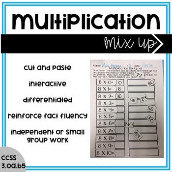Multiplication Mix-Up!