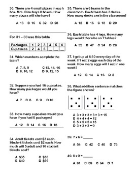 Multiplication Mixed Review