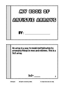 Multiplication Models & Arrays