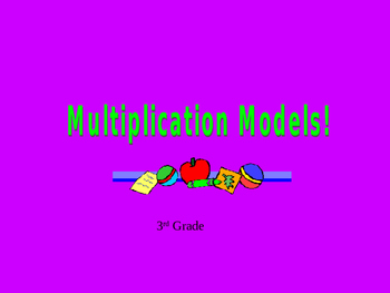 Multiplication Models PowerPoint