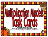 Multiplication Models Task Cards