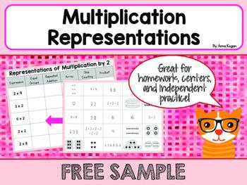 Multiplication Models and Representations Matching Activit