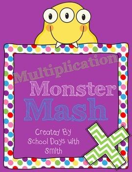 Multiplication Monster Mash